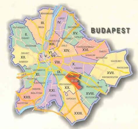 budapest térkép kispest Kispest térképe budapest térkép kispest