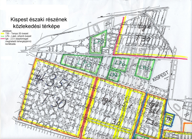 kispest térkép Kispest kölzekedési térképe kispest térkép
